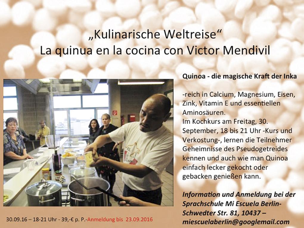 Curso de cocina para omnívoros, vegetarianos y veganos